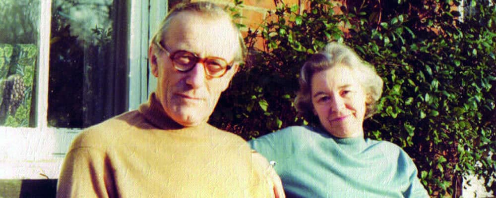 Eric and Mary Cordingly at home in Norfolk