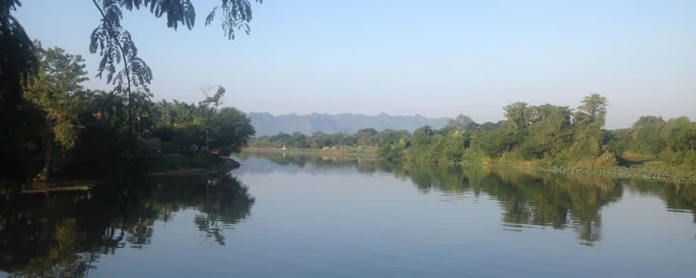 a view of the River Kwai